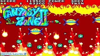 1987年10月17日 ゲーム ファンタジーゾーンⅡ BGM 「ROUND 1 (チョレコレイ)」