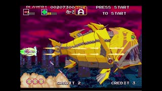 1994年09月19日 ゲーム ダライアス外伝(AC) BGM 「Tranquilizers(ZONE G、I・ZONE C ボス)」