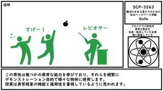 【ゆっくり紹介】SCP-3263【魔法の才ある