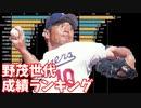 野茂英雄世代の投手勝利数&野手安打数ランキングの推移【1987-2013】【1968年度生まれ】【プロ野球】