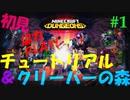 PART①【マインクラフト ダンジョンズ】二人でワイワイ。協力&初見プレイ!【Minecraft Dungeons】