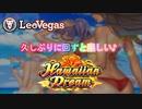 【オンラインカジノ/オンカジ】【レオベガス】久しぶりにハワイアンドリーム回すと面白いよね\(^o^)/