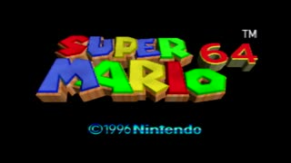 【実況】スーパーマリオ64をいま、全力で