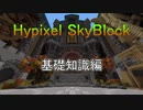 [Hypixel SkyBlock] 基礎知識編 スカイブロックを楽しもう