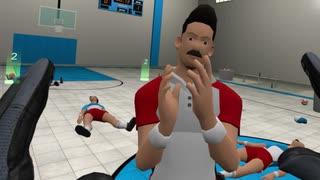 『VRドッジボール』でオレの獲物を横取りするヤツは味方でも許さん!!!