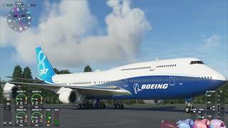 【VOICEROID実況】Microsoft Flight Simul