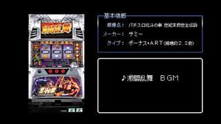 [ファミコン風] ART激闘乱舞 BGM (パチス