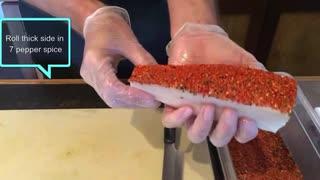大トロ味の深海魚 アブラソコムツの刺身