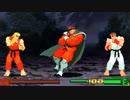 【格ゲーTAS】リュウ×ケン Dramatic Battle Mode(Street Fighter Zero 3)【AI高画質/60 fps】