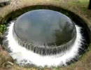 円筒分水(赤祖父ため池)