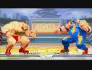 【格ゲーTAS】ザンギエフ vs ライデン(Capcom vs SNK 2 Mark of The Millenium)【AI高画質/60 fps】