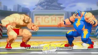 【格ゲーTAS】ザンギエフ vs ライデン(Ca