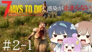【7 days to die】Re:感染が止まらない#1