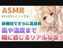 ⏩[ASMR/安眠] Youtubeより高音質の 耳かきマッサージで熟睡できる音【KU100】Sleep sound