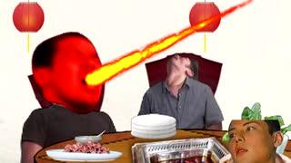 火鍋を食べる空手部