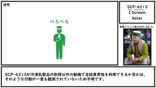 【ゆっくり紹介】SCP-4213【I Scream】