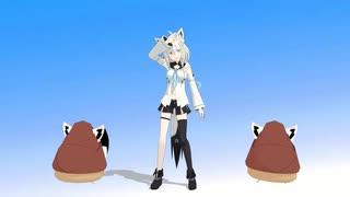 白上フブキさんで「ロイツマ」【MMDホロラ