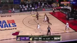 対 ヒート レイカーズ NBA昨日のレイカーズ対ヒートの試合について。