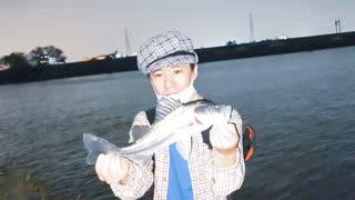 【釣り・Fishing】埼玉、荒川温泉・温排水でシーバスを釣る!@フッコとタイリクスズキのセイゴ【VLOG・P30 Pro】