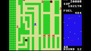 MSX BASICでRALLY-Xっぽいものを作ってみた