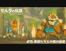 【実況】英傑たちとの旅の記憶【ゼルダの伝説BotW】 #15
