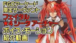 【FGOアーケード】シータ紹介動画ボイス・