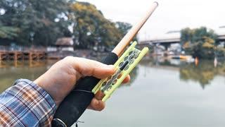 【釣り・Fishing】板橋区、志村坂上付近の見次公園で鯉釣り@パンぷかで30分縛り【VLOG・P30 Pro】
