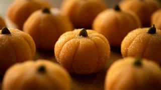 かぼちゃとチョコのミルクトリュフ(ブリ