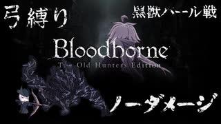 【Bloodborne】弓縛り カンストノーダメー