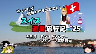 【ゆっくり】スイス旅行記 25 ジュネー