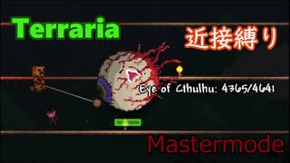 【Terraria】頂目指して近接縛り Part3【
