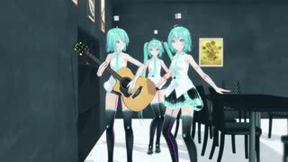 【MMD】コント ハンマーギター 一式セット