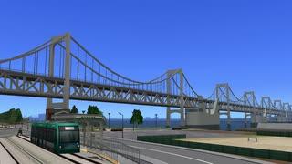 【A列車で行こう9】海と街と路面電車と【