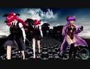 【東方MMD】パチュリーと三人の小悪魔で「イレヴンレイヴガール」1080P