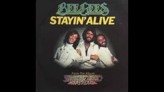 1977年12月13日 洋楽 「ステイン・アライヴ(Stayin' Alive)」(ビージーズ Bee Gees)