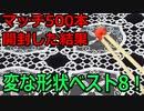 【マッチ500本を開封】変わったマッチを紹介