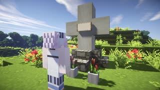 【Minecraftストーリー】月が降る丘 21話
