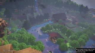 DQB2 作った森と建築中考えた事の紹介
