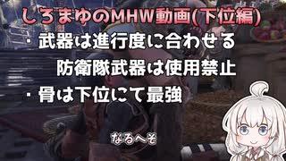 MHW 狩猟笛 初心者必見シリーズ!旋律の整