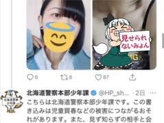 【悲報】北海道警少年課さん、jk裏垢をど