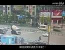 中国の事故映像11
