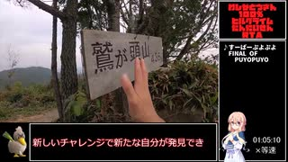 【RTA】鷲ヶ頭山1:05:10【リアル登山アタ