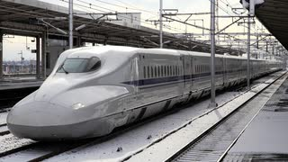 新幹線、雪との闘い その1 雪による思わ