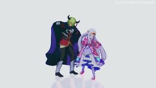 【MMD】LUVORATORRRRRY!【魔王城でおやす