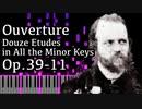 【アルカン】全ての短調による12の練習曲第11番 - 序曲 - Op.39-11 -【Synthesia/Alkan/Ouverture/Douze études】