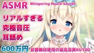 ●[耳舐めサンプル] 600万円機材使用したリアルすぎる耳舐め♡KU100収録【ASMR/期間限定】Ear licking