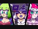 【手描きDB×Splatoon】ロキ【クロスオーバー夢注意】