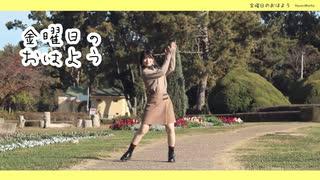 【るりこ】金曜日のおはよう【踊ってみた】