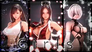 Girls[不知火、ティファ、2B]