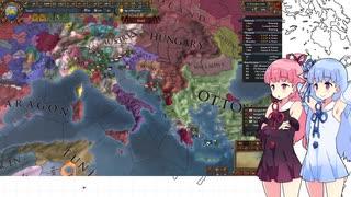【EU4】ヴェネチアでヴェネチアの海1日目